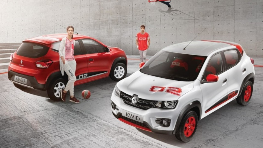 Renault Kwid ganha série especial 02 Anniversary Edition