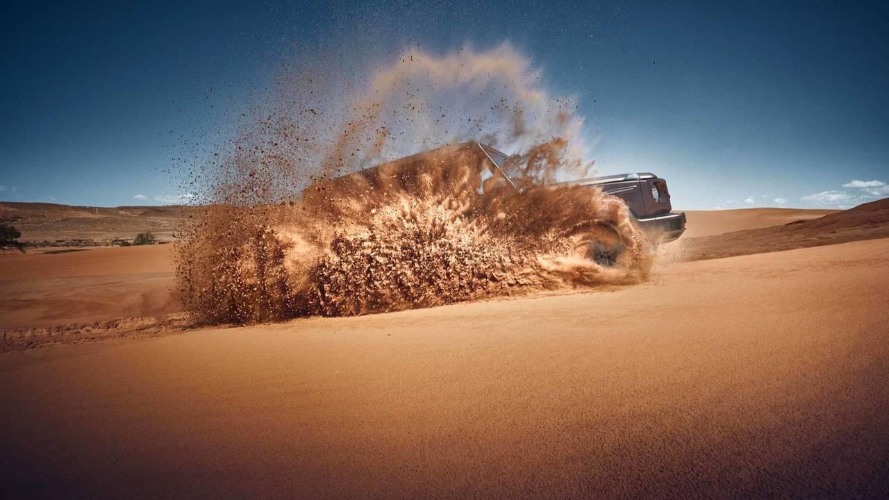 2019 Mercedes-Benz G-Class Teaser Sand