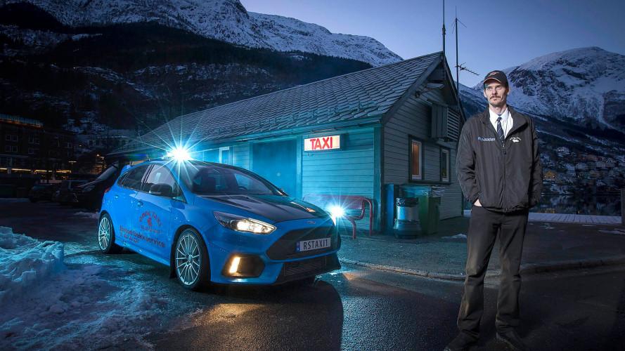 Ford Focus RS - Un taxi norvégien en a fait son outil de travail