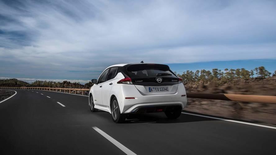 Nissan Leaf 2018 Europa