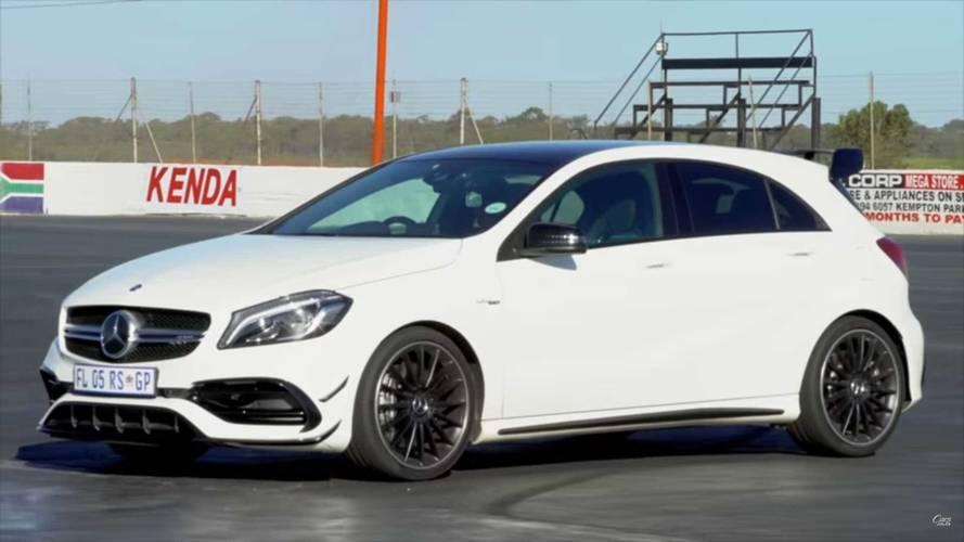 Audi RS3 ve Mercedes-AMG A45 drift yapabilir mi?