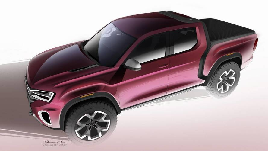 See The Sketches And Clay Models Used To Create VW Atlas Tanoak
