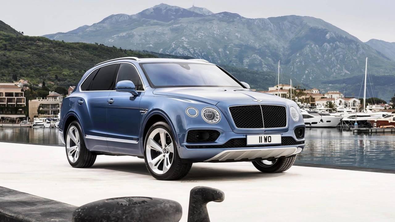 6. Bentley Bentayga – 4 secondes