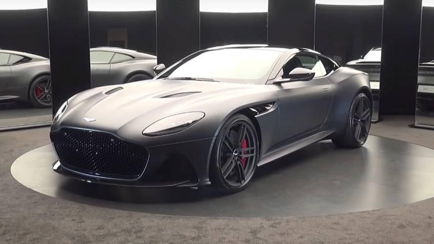 Aston Martin DBS Superleggera Gets The Walkaround Treatment