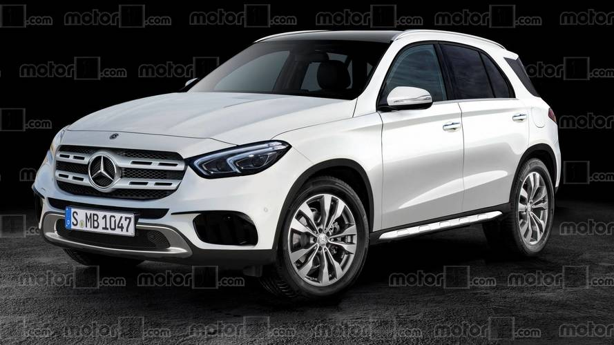 2019 mercedes gle ditches camo in new rendering. Black Bedroom Furniture Sets. Home Design Ideas