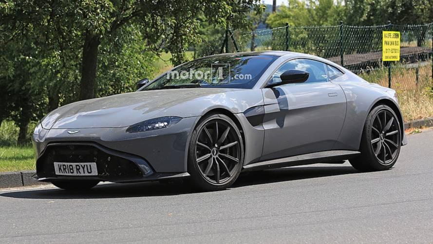 Aston Martin Vantage S casus kameralara yansıdı