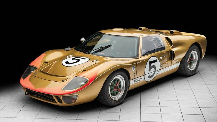 Le Mans Podium Finishing Ford GT40 Could Fetch $12M At Auction