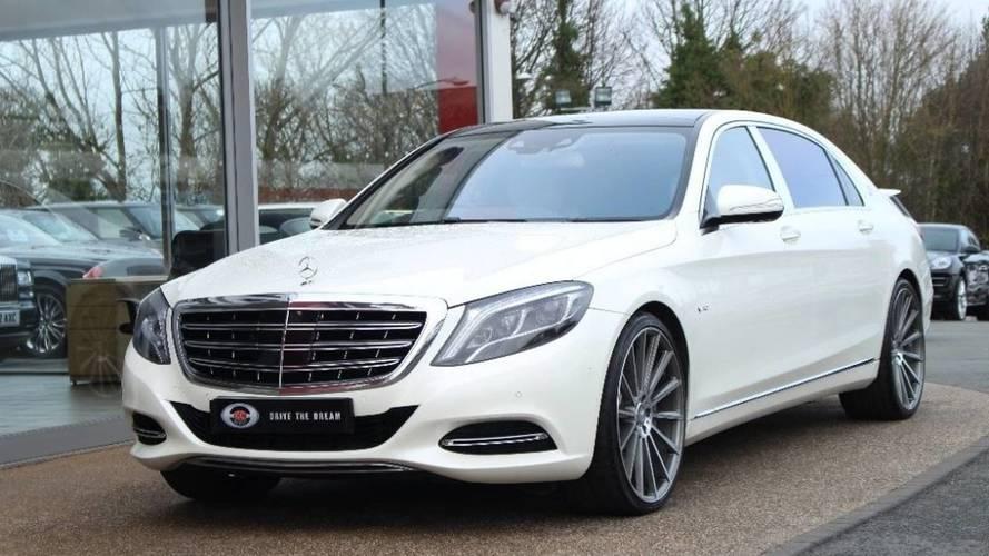 Eladó Lewis Hamilton egykori Mercedes-Benz S600 Maybach modellje