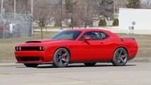 Dodge Challenger SRT Hellcat Drag Pack Spy Photos