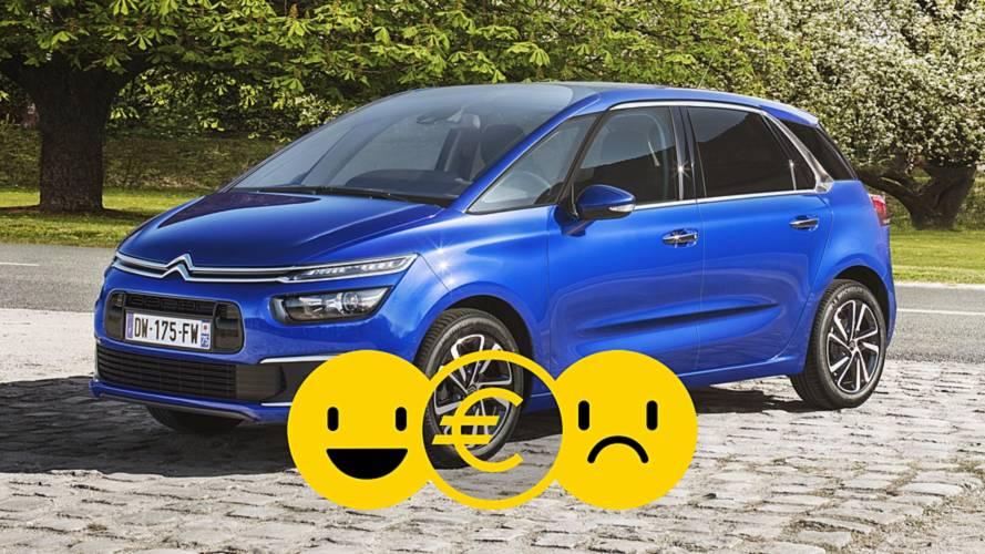 Promozione Citroën C4 SpaceTourer, perché conviene e perché no