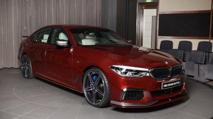 Este BMW M550i xDrive es el último capricho de Abu Dhabi Motors