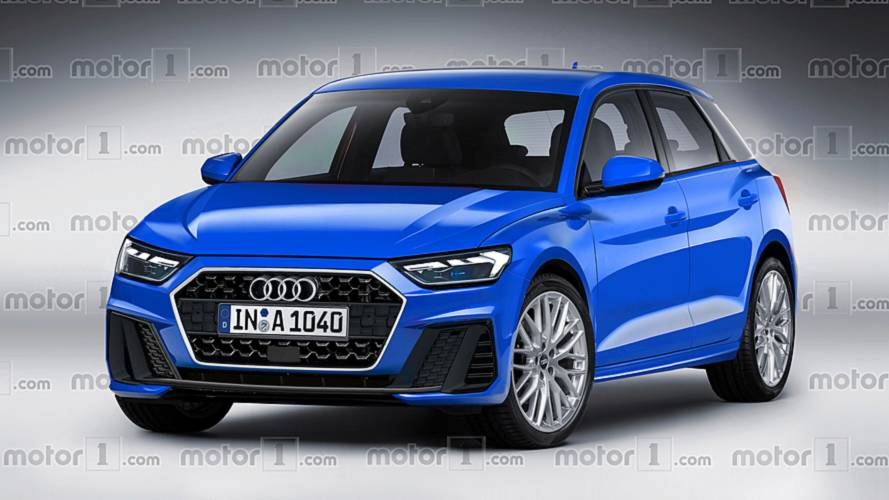 Is this what the new Audi A1 Sportback will look like?