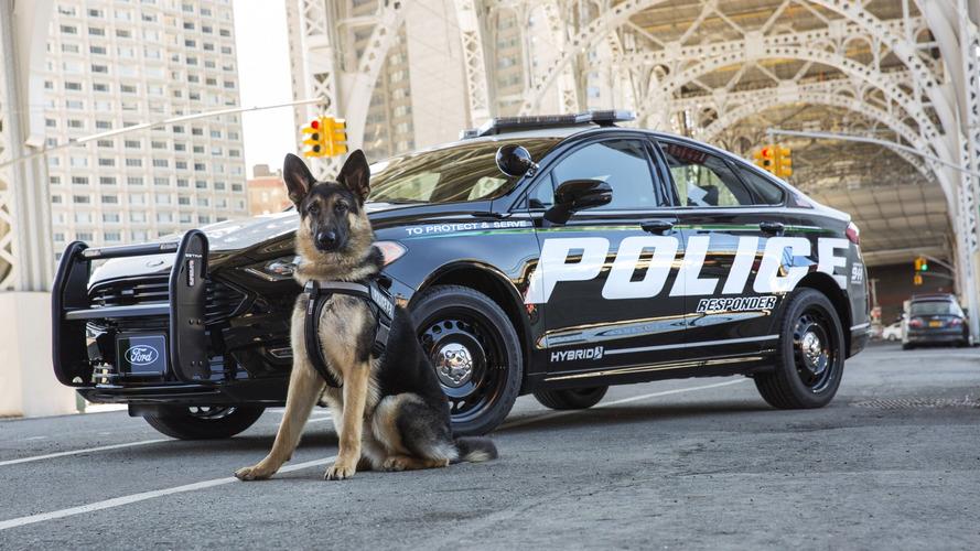 Ford dévoile la Police Responder Hybrid