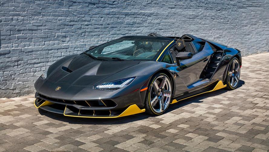 İlk Lamborghini Centenario Roadster Kaliforniya'ya indi