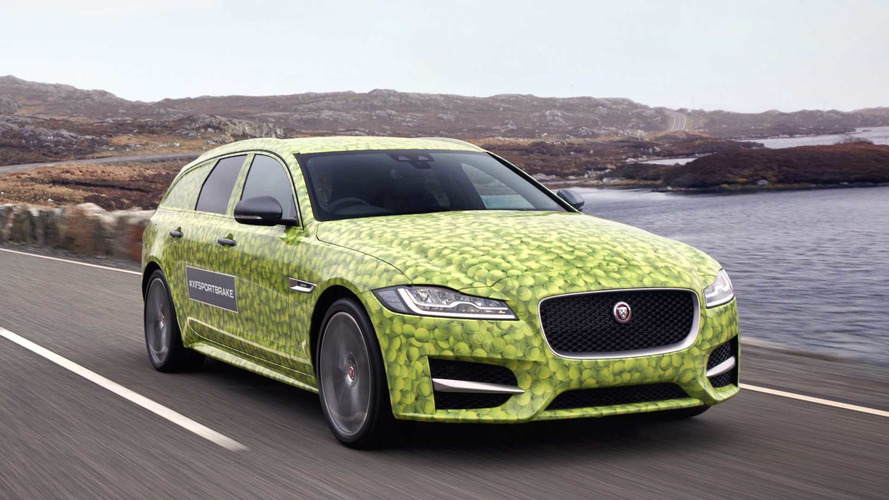 Jaguar XF Sportbrake 2017: se presentará en Wimbledon