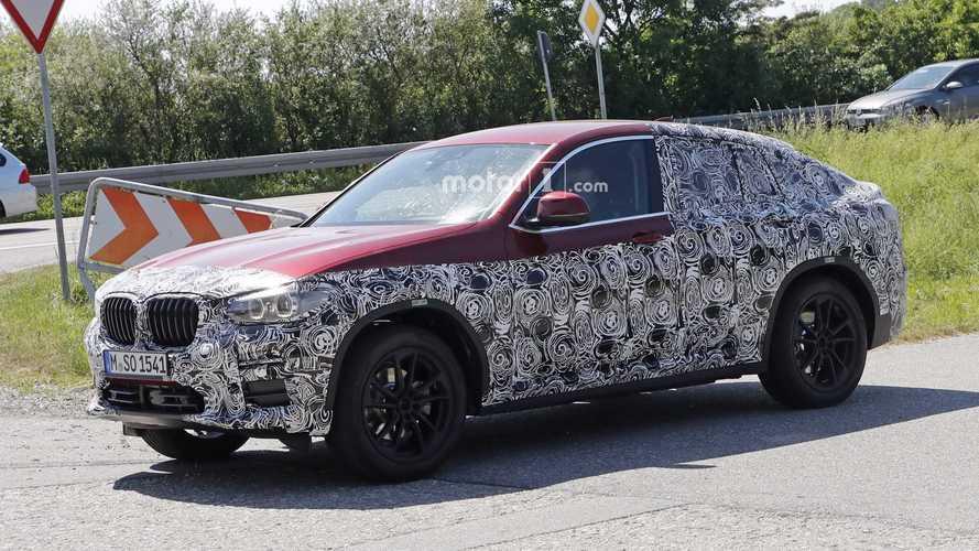 2019 BMW X4 hafif kamuflajla karşımızda