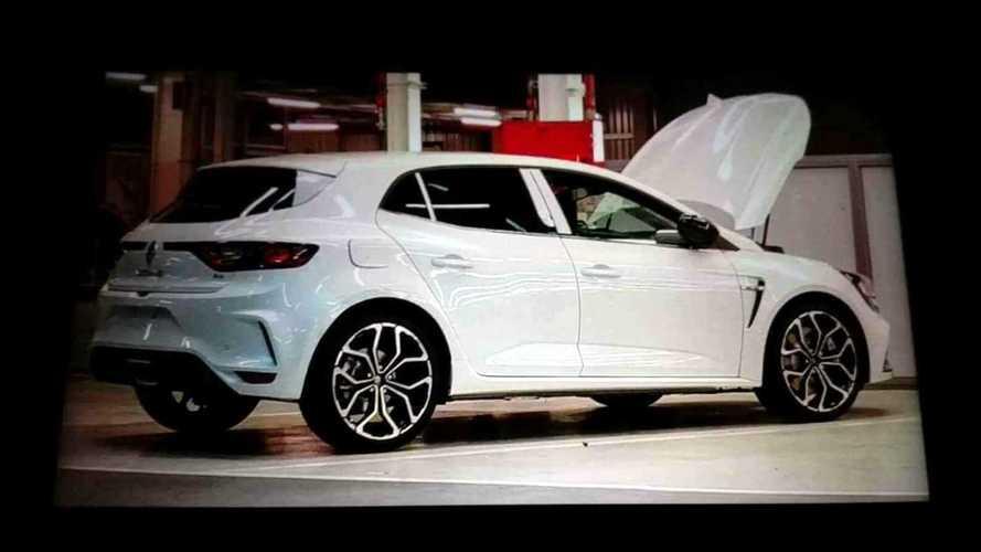 Yeni Renault Megane RS bu sefer de profilini gösterdi