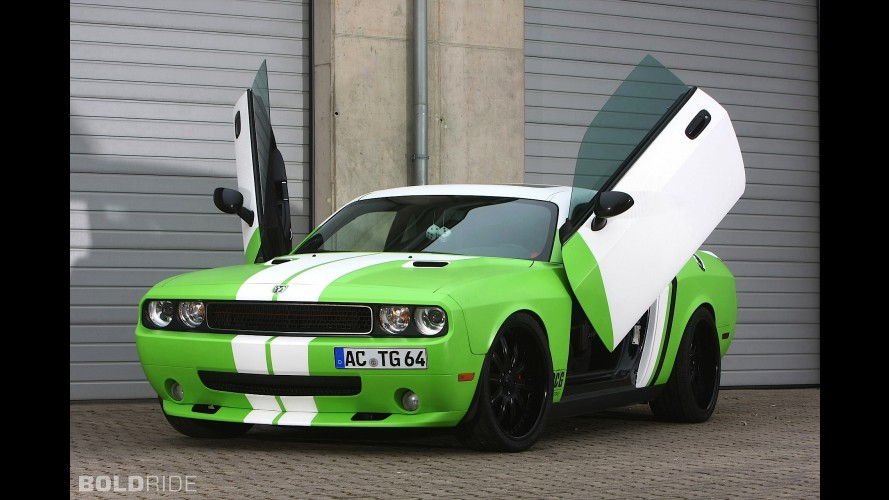 CCG Wrapped Dodge Challenger SRT8