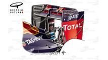 Red Bull RB12 arka kanat, Macaristan GP