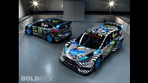 Ken Block Ford Focus RX WRC