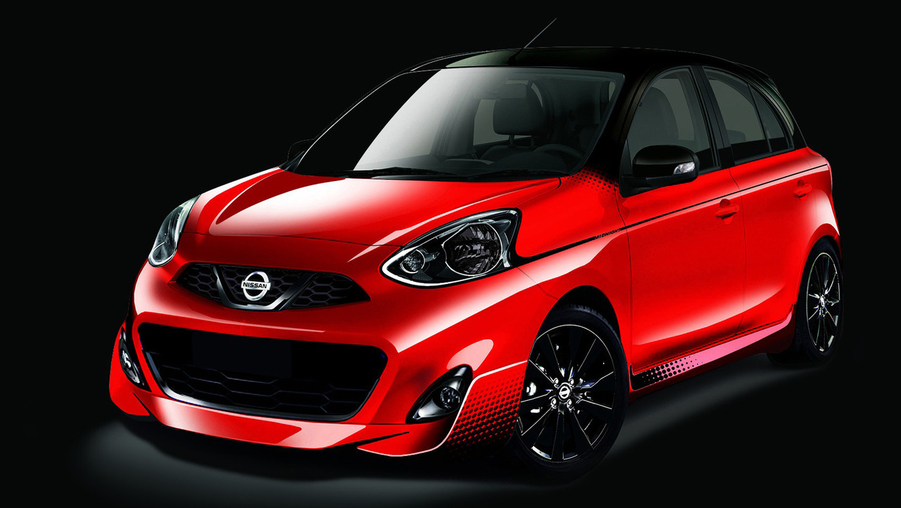 Nissan March Midnight Edition