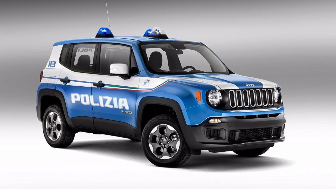 Полицейский автомобиль Jeep Renegade