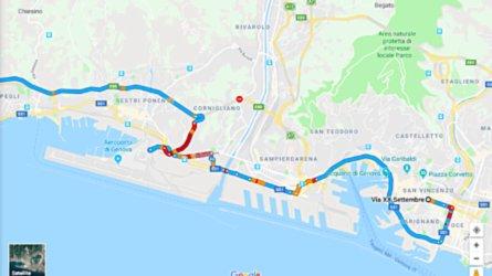 Crollo ponte A10 a Genova, aggiornamenti viabilità al 15 Agosto