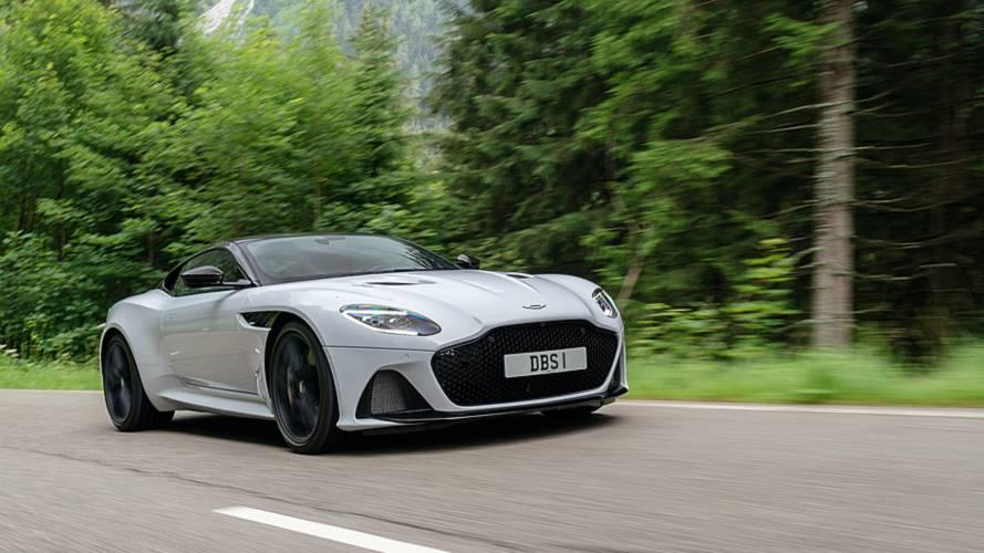 Aston Martin DBS Superleggera: суперлёгкий и супермощный