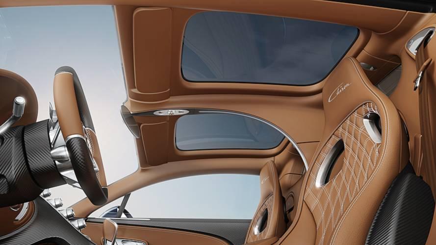 Bugatti Chiron techo panorámico