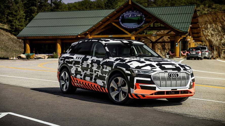 2019 Audi E-Tron energy recuperation and horsepower details are in