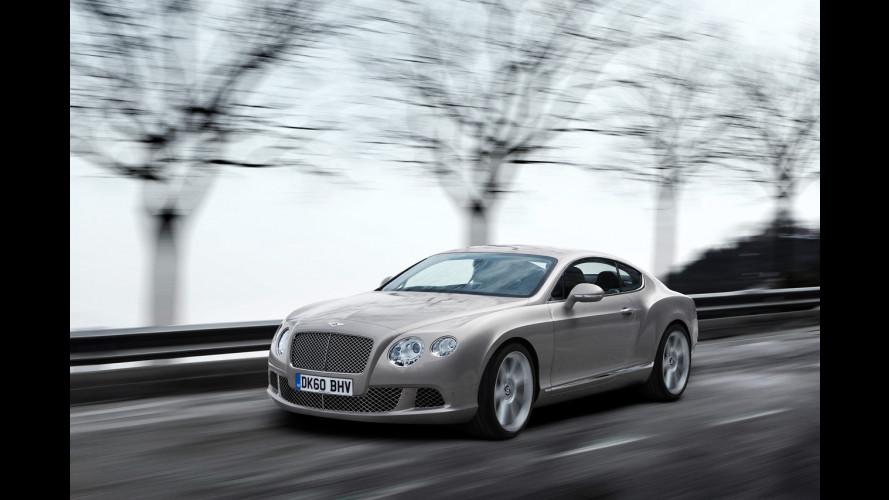 Bentley fa suonare il suo nuovo V8