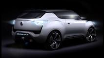 SsangYong e-XIV concept. I teaser