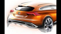 Volkswagen CrossBlue Coupé Concept, i bozzetti
