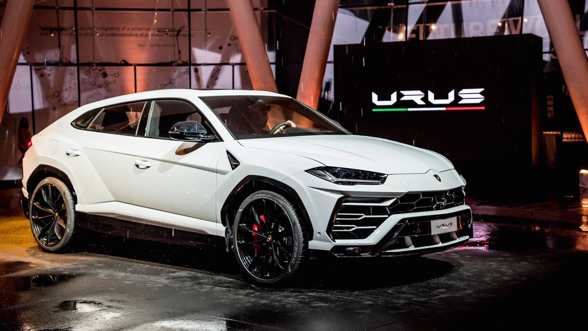 Lamborghini Shows New Urus In The Sheet Metal In Singapore