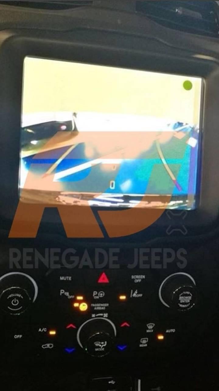 Jeep Renegade 2019 - Flagra