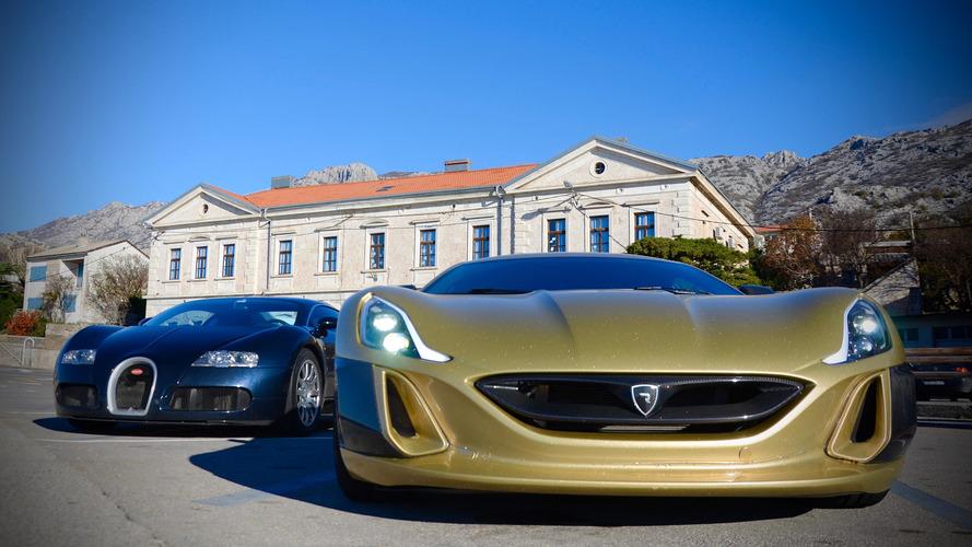 Rimac ve Veyron pistte kozlarını paylaştı