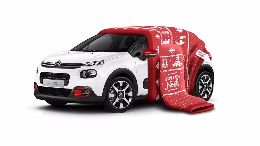 La Citroën C3 enfile son pull de Noël