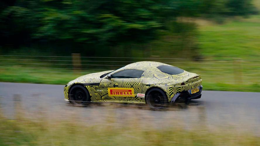 2019 Aston Martin V8 Vantage Pre-Production