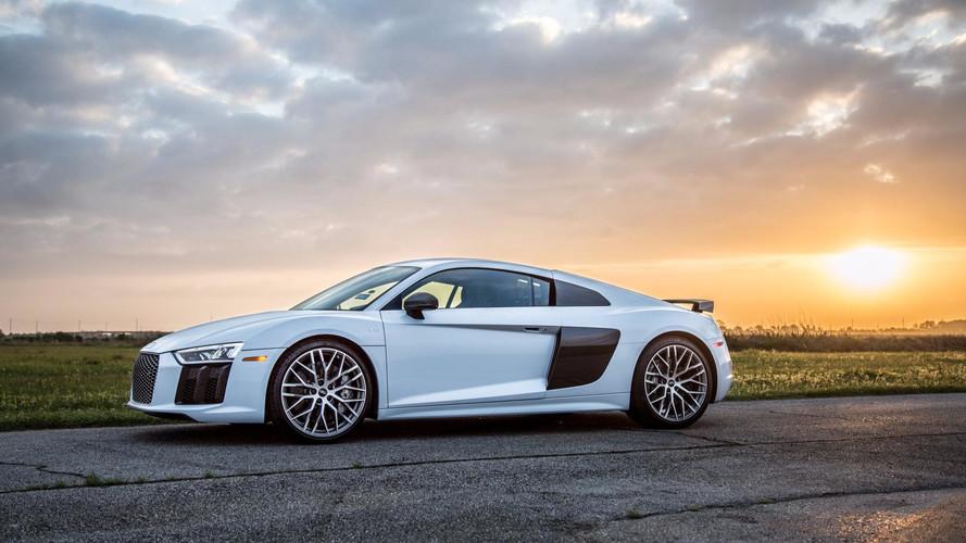 Hennessey Performance va greffer deux turbos à l'Audi R8