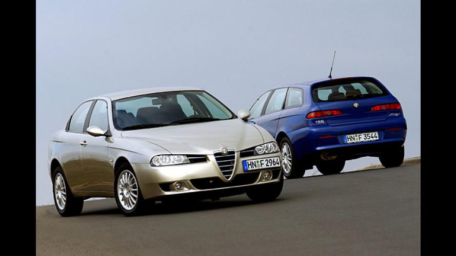Alfa 156 und Sportwagon: Beflügelt vom neuen Diesel
