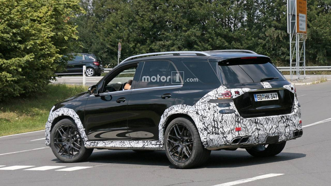 Mercedes Suvs At Work Glc Coupe Facelift Next Gen Gle Spied