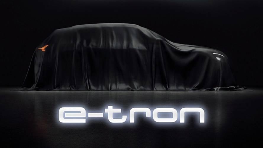 Audi e-tron, l'elettrica tedesca svelata in casa Tesla