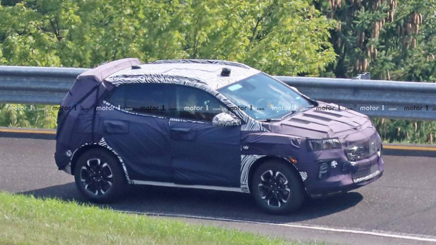 2020 Buick Encore Spied Sneaking Around The GM Proving Grounds
