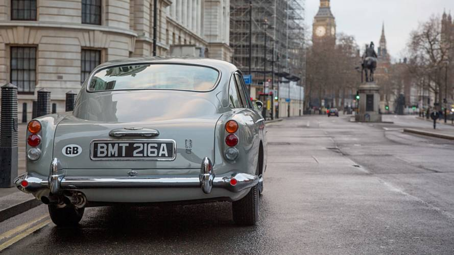 Aston Martin DB5 Goldfinger Continuation Series