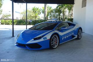Lamborghini Huracan Police Car Puts American Speeders on Edge