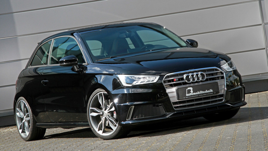 Audi S1 tuned to 380 hp is a wolf in sheep's clothing