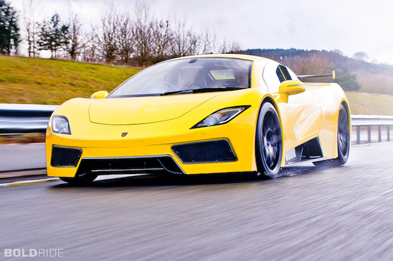 Arash AF8 Supercar is the Corvette's British Cousin