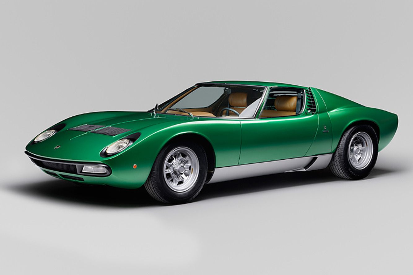 Lamborghini Has Returned this '71 Miura to Like-New Condition