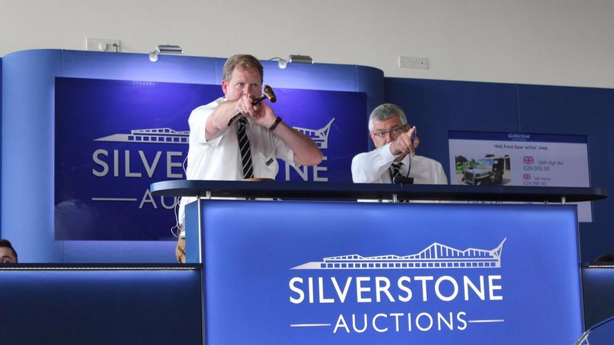 Enchères de Silverstone : De nombreux modèles mythiques en vente