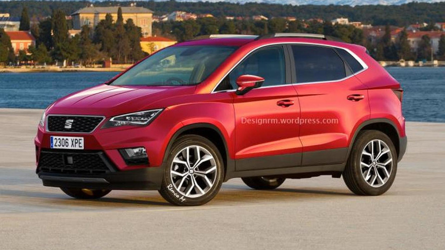 Seat Ibiza-based subcompact crossover rendered